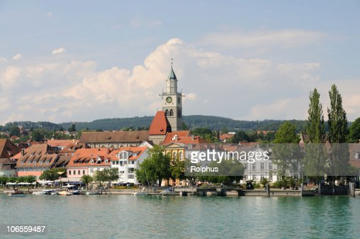 ?berlingen in Summer Lake Constance