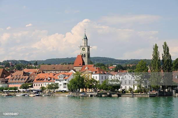 Überlingen in Sommer See Lake Constance