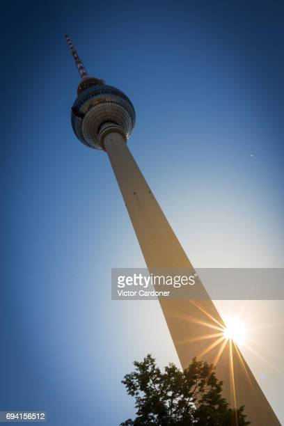 Berlin's TV Tower - Berliner Fernsehtrum