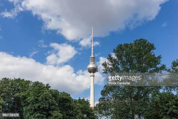 Berlin's TV Tower (Berliner Fernsehtrum)