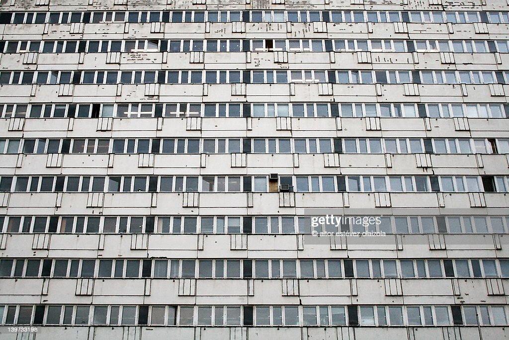 Berlín office building facade : Stock Photo