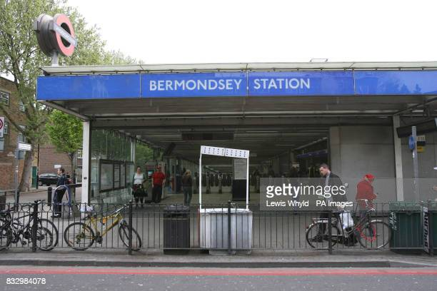 Bermondsey tube station which has been named as the most romantic on the London Underground network The the Jubilee line station took the title...