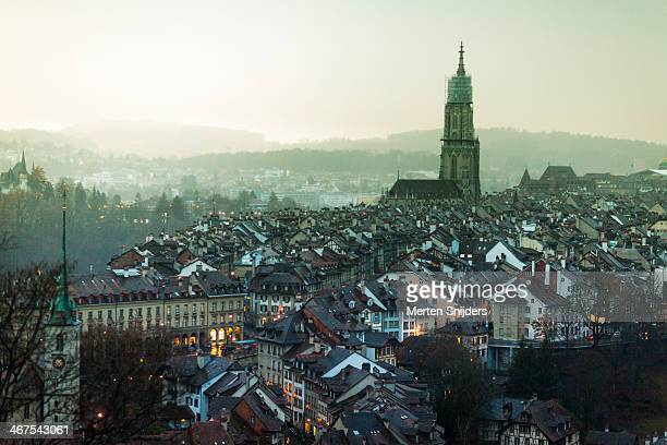 Bern oldtown and M?nster Cathedral