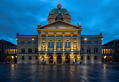 Swiss Parliament building. Bern. Switzerland.