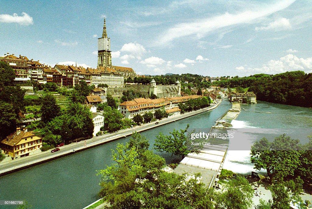 Bern upon Aare River