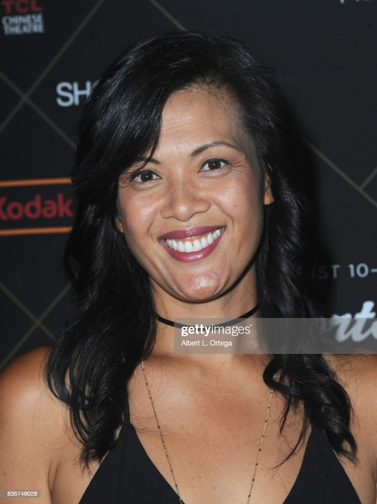 Bernadette Balagtas arrives for the HollyShorts Film Festival - Closing Night Film 'This Is Meg' held at TCL Chinese 6 Theatres on August 19, 2017 in Hollywood, California.