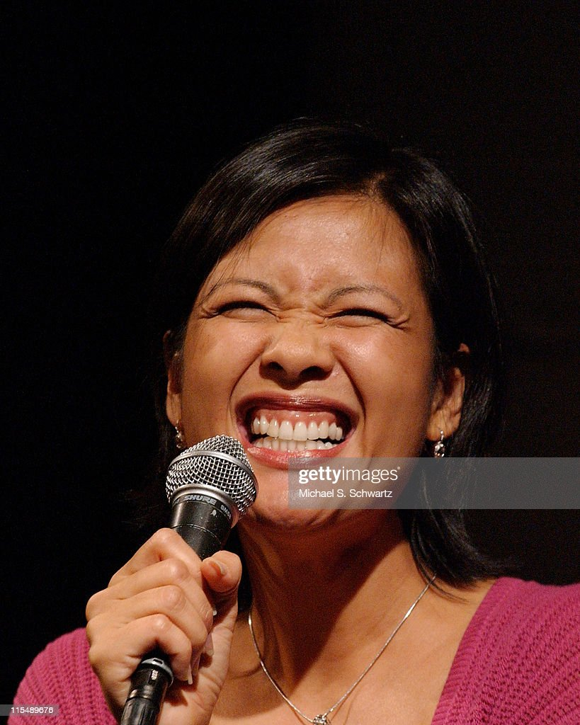 Bernadette Balagtas performs at The Hollywood Improv on October 4 2007 in Hollywood California
