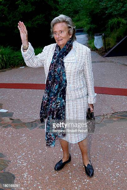 Bernadette Chirac attends 'Friends of Quai Branly Museum Society' dinner party at Musee du Quai Branly on September 9 2013 in Paris France
