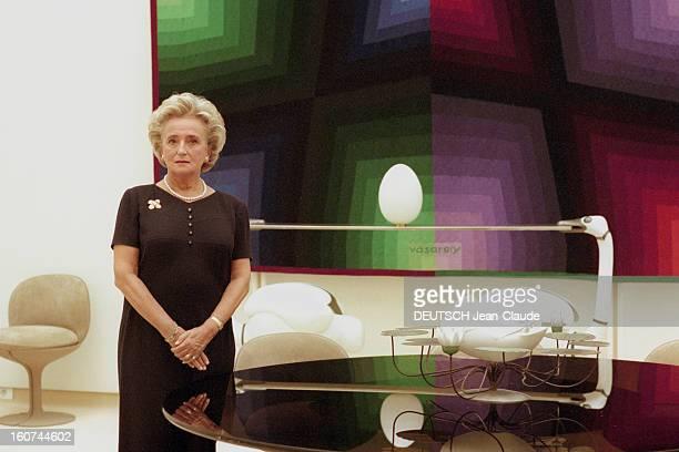 Bernadette Chirac Launches Campaign 'Let's Give Colors To The Hospital' A Paris le 31 octobre 1997 Rendezvous avec Bernadette CHIRAC à l'Elysée à...