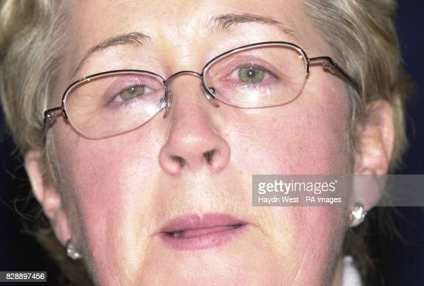Bernadette McNally who lost an eye in the Talbot Street Dublin bombing who is Chairperson for the Justice for the Forgotten legal team trying to hold...