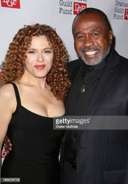 Bernadette Peters and Ben Vereen attend the Dramatists Guild Fund's 2013 Gala at The Edison Ballroom on October 21 2013 in New York City
