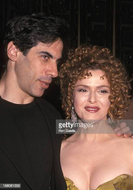 Bernadette Peters and Husband Michael Wittenberg during 56th Annual Tony Awards Arrivals at Radio City Music Hall in New York City New York United...