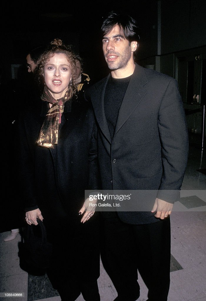 Bernadette Peters and Husband Michael Wittenberg during New York Premiere of 'Welcome To Sarajevo' at Sony Theater 19th Street in New York City, New York, United States.