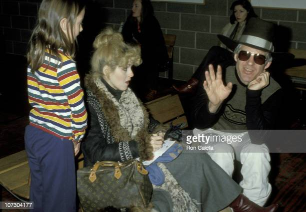 Bernadette Peters and Steve Martin during Bernadette Peters and Steve Martin Sighting at the Aspen Airport Lounge December 21 1977 at Aspen Airport...
