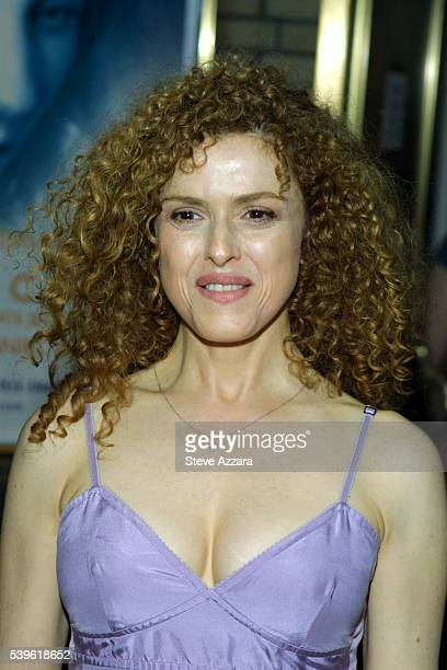 Bernadette Peters at the pet adoption event in Times Square Photo by Steve Azzara/Corbis Sygma