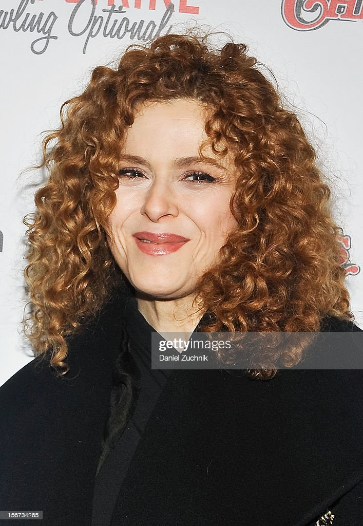 Bernadette Peters attends 'A Christmas Story: The Musical' broadway opening at Lunt-Fontanne Theatre at Lunt-Fontanne Theatre on November 19, 2012 in New York City.