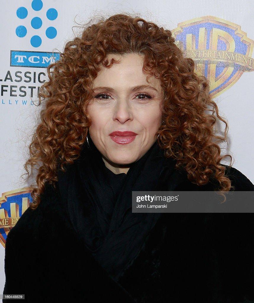 Bernadette Peters attends 'Cabaret' 40th Anniversary New York Screening at Ziegfeld Theatre on January 31, 2013 in New York City.