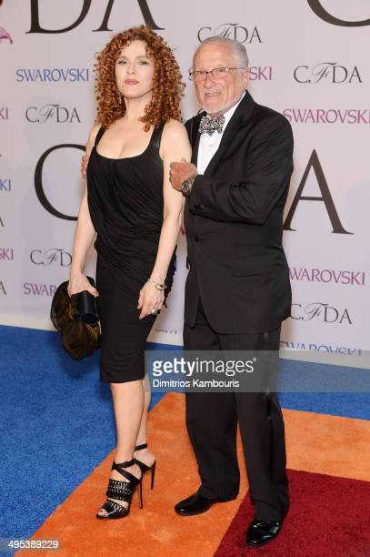Bernadette Peters attends the 2014 CFDA fashion awards at Alice Tully Hall Lincoln Center on June 2 2014 in New York City