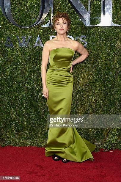 Bernadette Peters attends the 2015 Tony Awards at Radio City Music Hall on June 7 2015 in New York City