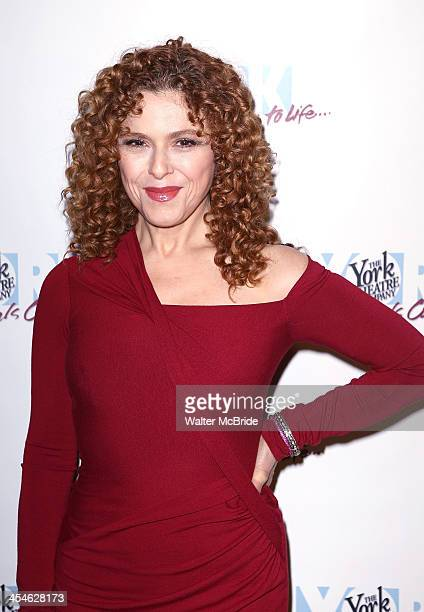 Bernadette Peters attends the 22nd annual Oscar Hammerstein Award gala at The Hudson Theatre on December 9 2013 in New York City