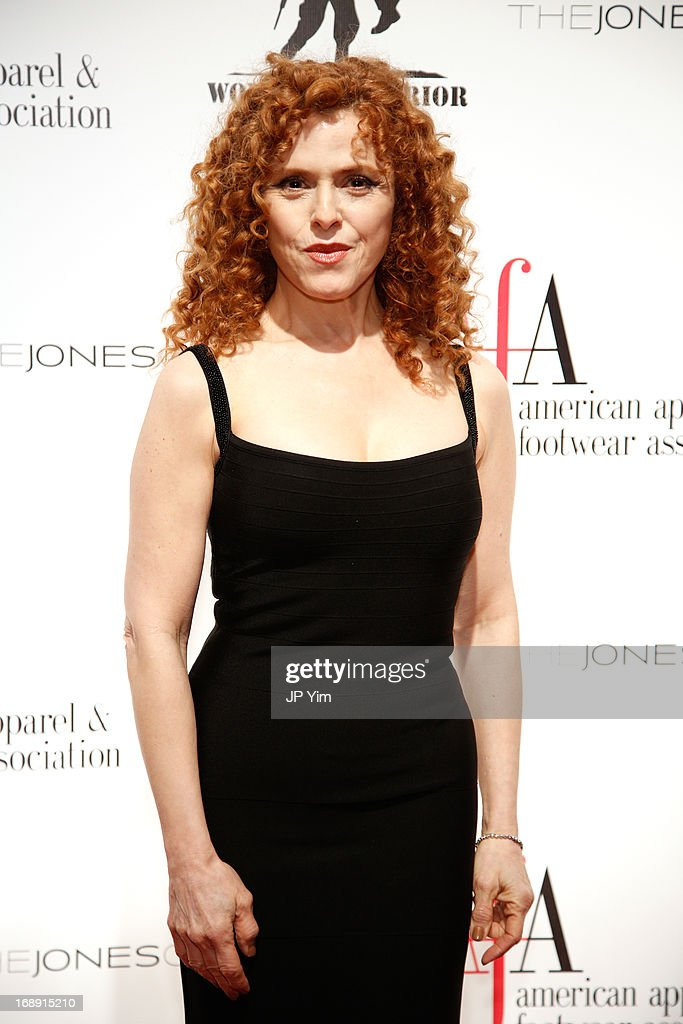 <a gi-track='captionPersonalityLinkClicked' href=/galleries/search?phrase=Bernadette+Peters&family=editorial&specificpeople=203332 ng-click='$event.stopPropagation()'>Bernadette Peters</a> attends the 35th Annual American Image Awards at the Intrepid Sea-Air-Space Museum on May 16, 2013 in New York City.