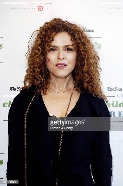 Bernadette Peters attends the 3rd Annual The New York Times Great Children's Read at Columbia University on October 4 2009 in New York City
