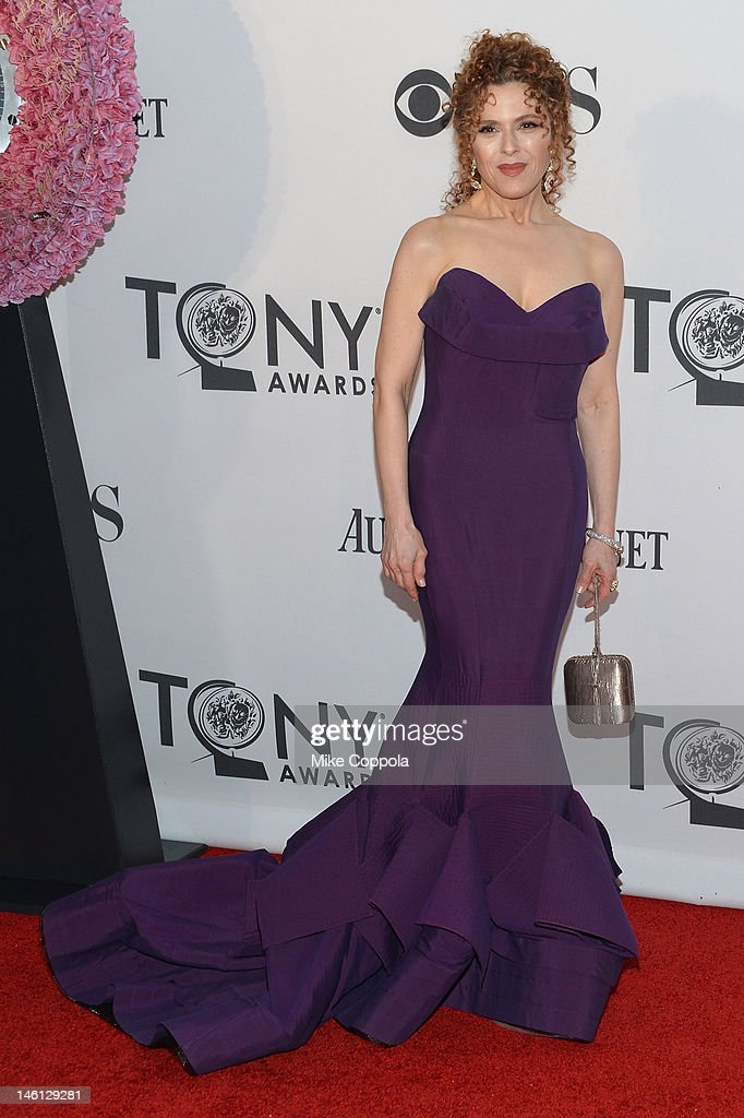 Bernadette Peters attends the 66th Annual Tony Awards at The Beacon Theatre on June 10, 2012 in New York City.