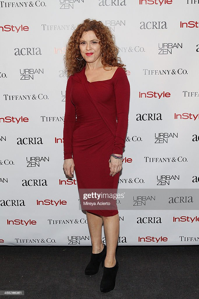 Bernadette Peters attends the ACRIA annual holiday dinner benefiting AIDS research on December 11, 2013 in New York City.