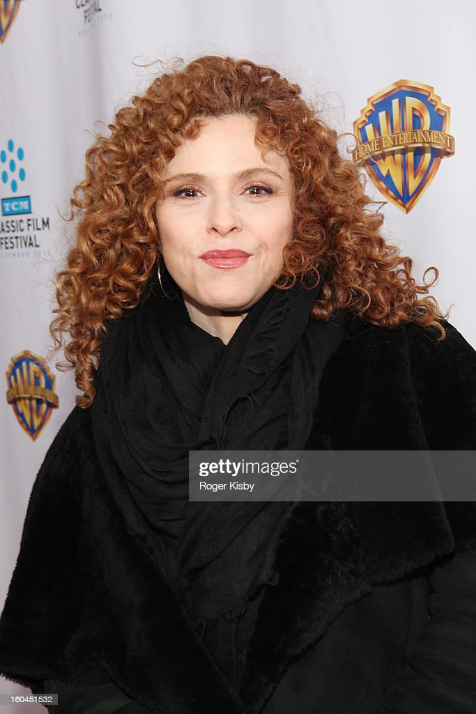 Bernadette Peters attends the 'Cabaret' 40th Anniversary New York Screening at Ziegfeld Theatre on January 31, 2013 in New York City.