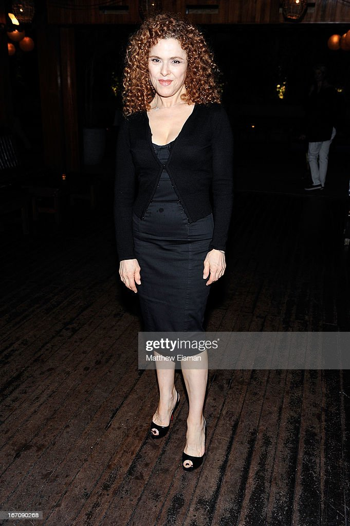 Bernadette Peters attends the 'Elaine Stritch: Shoot Me' after party during the 2013 Tribeca Film Festival at Maritime Hotel on April 19, 2013 in New York City.