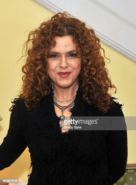 Bernadette Peters attends the launch of Melissa Rivers new book 'Red Carpet Ready' in Manhattan on February 2 2010 in New York City