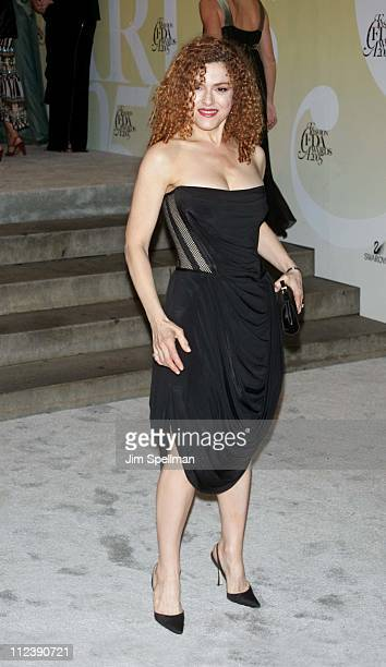 Bernadette Peters during 2005 CFDA Fashion Awards Outside Arrivals at New York Public Library in New York City New York United States