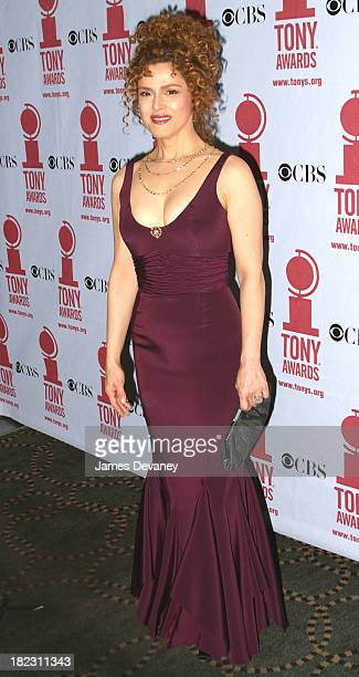 Bernadette Peters during 56th Annual Tony Awards Press Room at American Theater at Radio City Music Hall in New York City New York United States