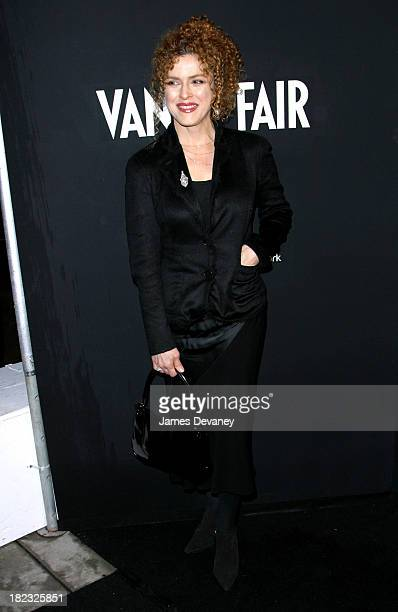 Bernadette Peters during Vanity Fair In Concert Series Launch Party at Donna Karan New York Flagship in New York City New York United States