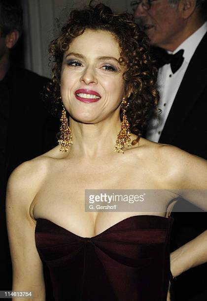 Bernadette Peters wearing Naeem Khan during The Royal Rajasthan Gala Benefiting the Brain Trauma Foundation March 7 2007 at The Pierre Hotel in New...
