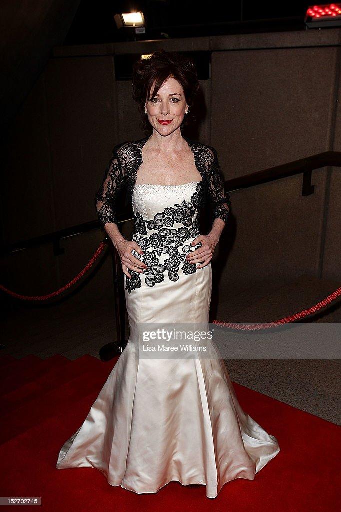 Bernadette Robinson arrives at the 2012 Helpmann Awards at the Sydney Opera House on September 24, 2012 in Sydney, Australia.