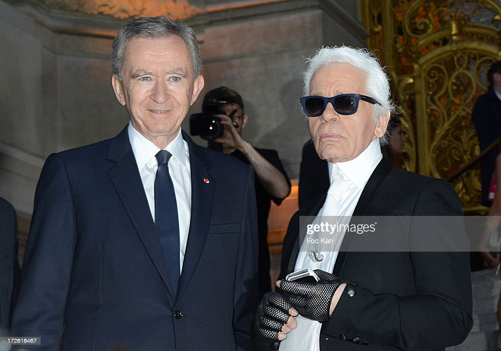 <a gi-track='captionPersonalityLinkClicked' href=/galleries/search?phrase=Bernard+Arnault&family=editorial&specificpeople=214118 ng-click='$event.stopPropagation()'>Bernard Arnault</a> and <a gi-track='captionPersonalityLinkClicked' href=/galleries/search?phrase=Karl+Lagerfeld+-+Fashion+Designer&family=editorial&specificpeople=4330565 ng-click='$event.stopPropagation()'>Karl Lagerfeld</a> arrive at the The Glory of Water' <a gi-track='captionPersonalityLinkClicked' href=/galleries/search?phrase=Karl+Lagerfeld+-+Fashion+Designer&family=editorial&specificpeople=4330565 ng-click='$event.stopPropagation()'>Karl Lagerfeld</a>'s exhibition at Fendi Store After Party : Outside Arrivals At the Petit Palais on July 3 on July 3, 2013 in Paris, France.