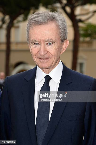 Bernard Arnault attends the Louis Vuitton Cruise Line Show 2015 at Palais Princier on May 17 2014 in MonteCarlo Monaco