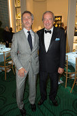 Bernard Blistene and Christian Langlois Meurinne attend the 27th 'Biennale des Antiquaires' Pre Opening at Le Grand Palais on September 9 2014 in...
