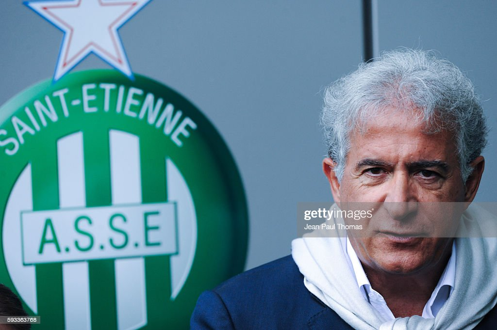 Bernard CAIAZZO during the Ligue 1 match between As Saint Etienne and Montpellier Herault at Stade GeoffroyGuichard on August 21 2016 in SaintEtienne...