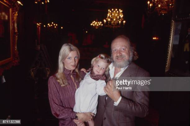 Bernard Cornfeld investor and fund manager with his wife Lorraine Dillon Armbruster May 6 1979 inside their Beverley Hills Mansion Beverly Hills...