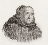 Bernard De Montfaucon 1655 To 1741 French Benedictine Monk Scholar And Archaeologist From Crabb's Historical Dictionary Published 1825