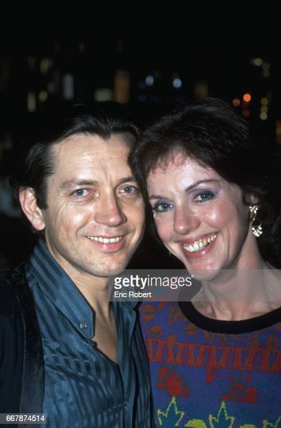 Bernard Giraudeau and Anny Duperey
