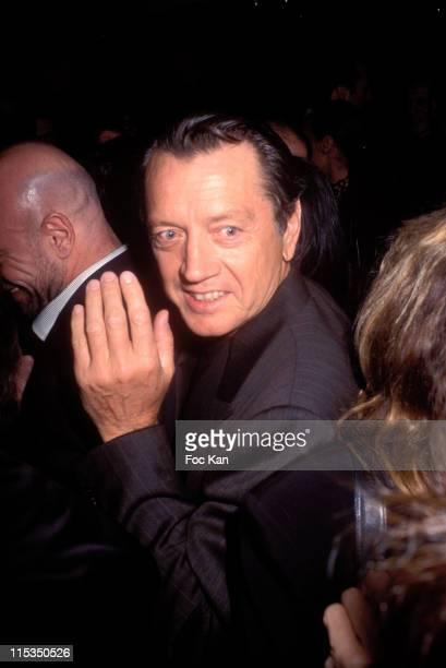 Bernard Giraudeau during 19 th Paris film Festival Finale at Gaumont Marignan in Paris France