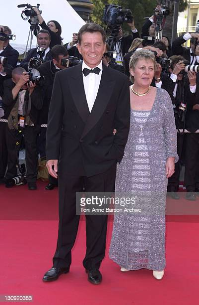 Bernard Giraudeau during Cannes 2002 Opening Night 'Hollywood Ending' Premiere at Palais des Festivals in Cannes France