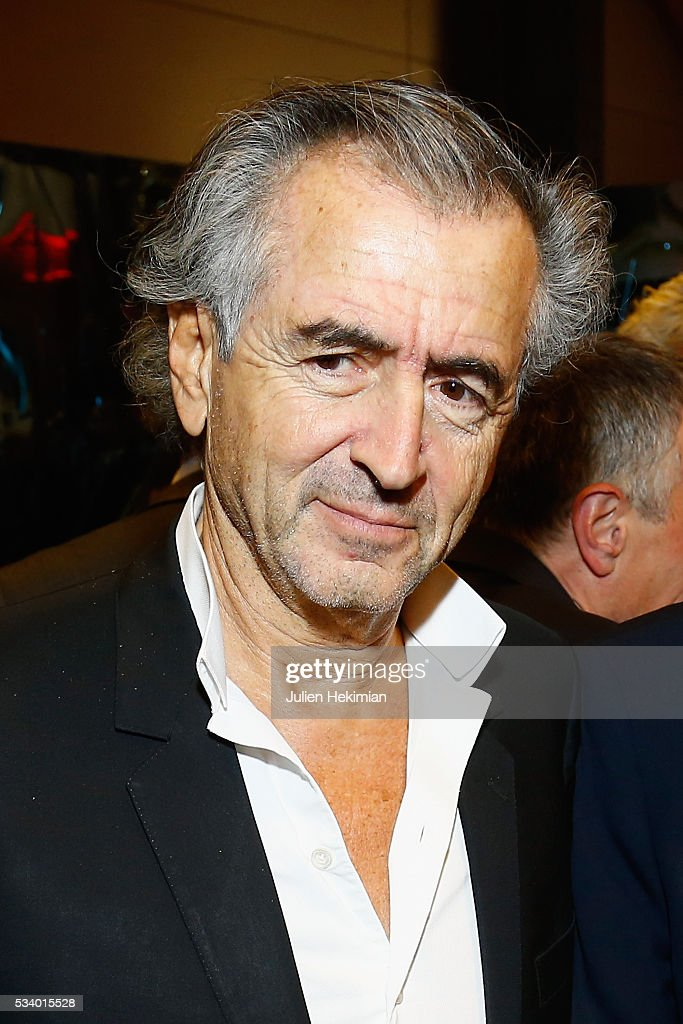Bernard Henri Levy attends the Atlantico 5th Anniversary at Cafe Campana at Musee d'Orsay on May 24, 2016 in Paris, France.