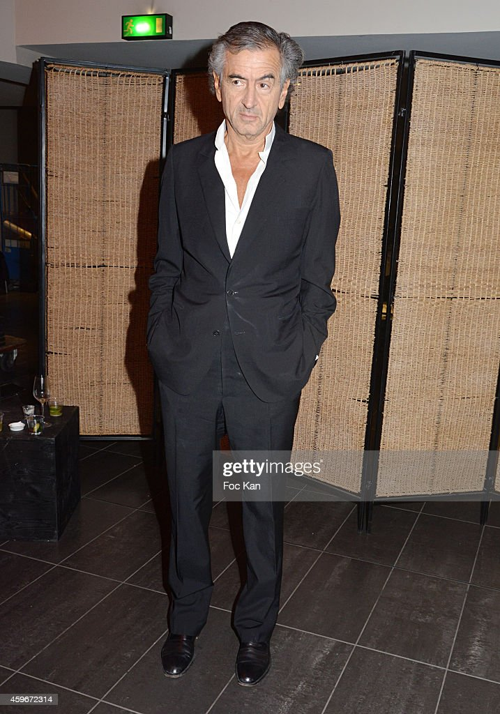 Bernard Henri Levy attends the 'Soiree Arielle Dombasle' At Cheries Cheris - LGBT 20th Festival - At MK2 Bibliotheque on November 27.