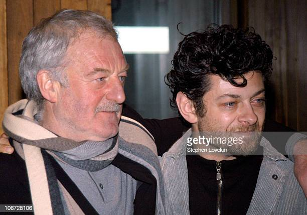 Bernard Hill and Andy Serkis during The Film Society of Lincoln Center Hosts a Special Screening of 'The Lord of The Rings' Trilogy at Alice Tulley...