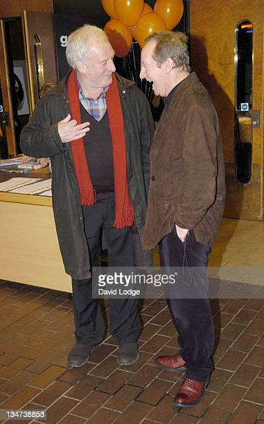 Bernard Hill and Bill Paterson during The London Children's Film Festival 2005 Opening Gala Screening of 'Chicken Little' at Barbican Cinema in...