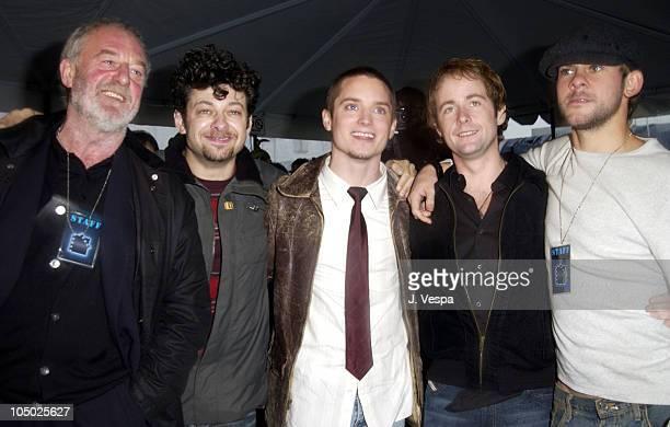 Bernard Hill Andy Serkis Elijah Wood Billy Boyd and Dominic Monaghan